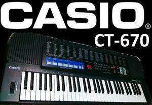 Casio Tone Bank CT-670 Keyboard.