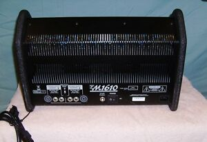 Yorkville M1610 Pwr Mixer Package PA system  ELITE speakers Windsor Region Ontario image 3