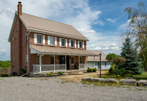 LARGE FARMHOUSE ON 43 ACRES IN DUNSFORD.  OPEN HOUSE SUNDAY 1-3