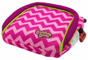 Bubblebum Inflatable Car Seat, Pink/Chevron, BNIB w/tags