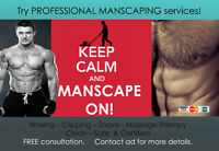 Look your BEST! Pro Manscaping