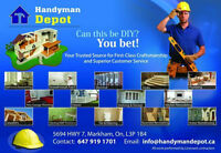 Handyman,electrical plumbing,carpentry,painting,basements,drywal