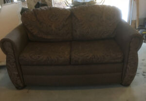 Couch with storage drawer