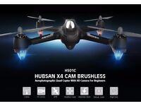 Hubsan x4 h501c brushless motor! drone 1080p HD camera GPS altitude hold one key return headlessm