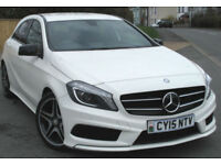 Mercedes-Benz A180 AMG Sport 1.5 CDI Manual 6-sp in Cirrus White 2015; 28k mi
