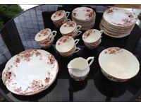 Bone china tea set, believed to be early Royal Albert circa 1905-7