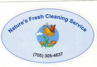 NATURE'S FRESH CLEANING SERVICE Cleaning naturally