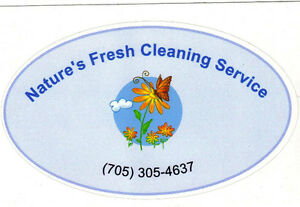 Nature's Fresh Cleaning Service Wasaga Beach, Collingwood