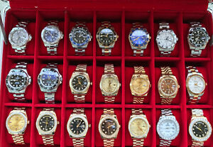 Many Swiss watches for sale