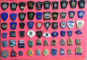 Lot d'Epinglettes / Pins POLICE