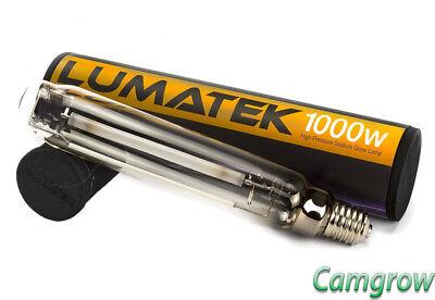 Lumatek 1000W Dual Spectrum HPS Sodium Hydroponic Grow Lamp/Bulb