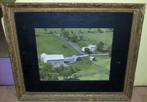 c1901 1800s Local Farm House Framed Solid
