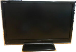 """Toshiba REGZA 42""""  Flat Screen TV with remote for sale."""
