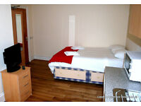 Short let studio flat for rent in London, fully furnished apartment in Kilburn London (#K4)