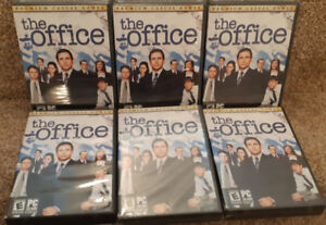 Lot of (SIX) 6 - NEW - The Office (PC-CD, 2007) Windows 98 SE/ME