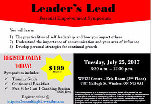 Leader's Lead - Personal Empowerment Symposium