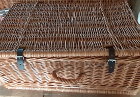 Wicker Hamper Baskets from Fortnum and Mason