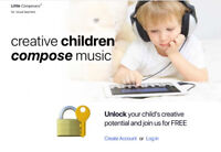 Unlock your child's creative potential w. FREE music apps