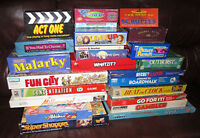 BOARD GAMES  ~  ALL 23 FOR $85
