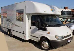 2004 FORD TRANSIT SUNLINER 2.4L TURBO DIESEL MOTORHOME Cannington Canning Area Preview