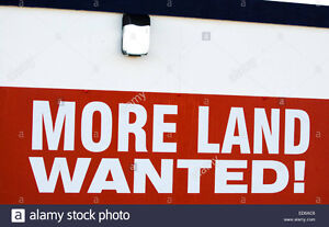 I WANT TO LEASE YOUR LAND