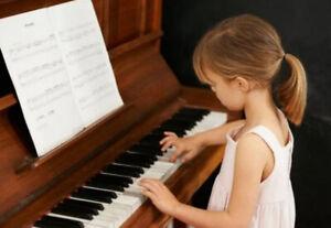 Piano Lessons/Cours de piano !