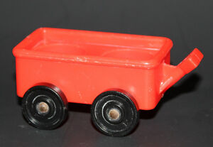 Vintage FISHER PRICE Little People RED WAGON 937 SESAME STREET