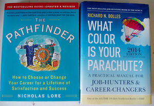 Career Change Books:What Color is Your Parachute &The Pathfinder