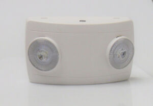 LED Emergency Light- Two Head -- Exclusive Sale