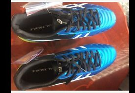 ASICS Lethal Tackle RUGBY BOOTS size 7 with stud key Brand New Will post if you can't pick up