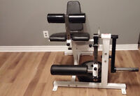 Olympic Leg Curl/Extention Machine + 150LBS of Weight