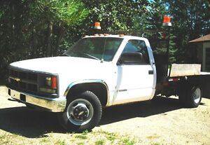 1997 Chevrolet Cheyenne 1 Ton Flatbed