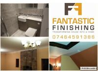 Painting and Decorating, Tiling, Bathroom Fitting, Wall and Floor Tiling