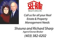 BUY OR SELL IT RIGHT WITH SEL-RITE REALTY