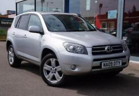 2009 TOYOTA RAV 4 2.2 D 4D SR180 18andquot; ALLOYS, CRUISE and SUNROOF