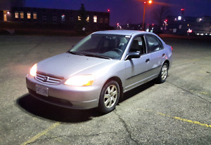 2001 Honda Civic 4 Door Auto