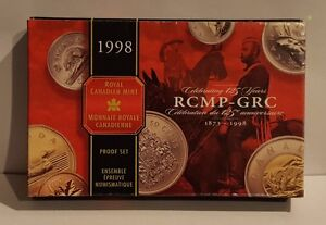 1998 RCMP Royal Canadian Mint Proof Set