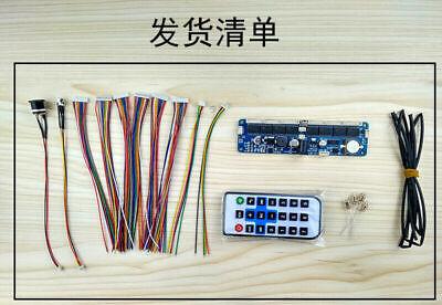 6-digit Nixie Tube Board Nixie Tube Clock Kit Remote For In12 In14 In18 Qs30-1