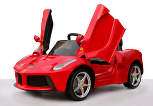 Lowest price guarantee-BNIB Licensed Kid's Ride-On Car LaFerrari