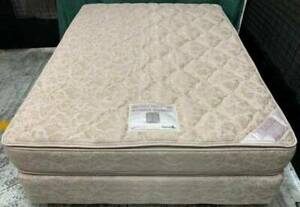 Excellent queen bed set (double-sided Pillow Top mattress) for sale