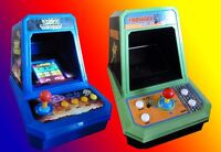 Retro - Space Invaders and Frogger Mini Tabletop Arcade Games