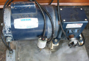 40/1 gear reducer and 1/3hp Leeson motor