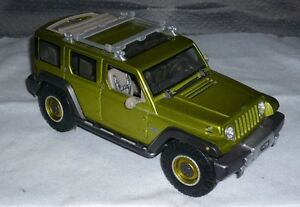 Diecast Jeep Rescue Concept **Free shipping**