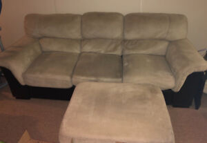 Gently used couches 3 piece set or separate