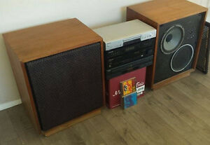 VINTAGE Pioneer High Output Amp wé Huge Speakers from the 70s