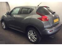 2011 GREY NISSAN JUKE 1.6 ACENTA PREMIUM PETROL AUTO HATCH CAR FINANCE FR £25 PW