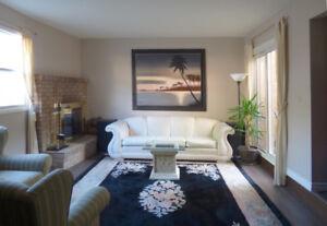 Furnished Home for Rent in High-End Burlington Neighborhood
