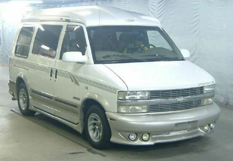06250a736272b2 FRESH IMPORT 2002 CHEVROLET ASTRO DAY VAN GMC SAFARI LHD V6 LUXURY MPV  VORTEX
