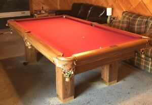 4x8 Dufferin Pool Table with accessories