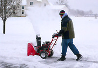 SNOW REMOVAL VERY RELIABLE